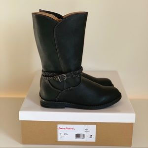Hanna Andersson Girls Knee High Boot, NIB